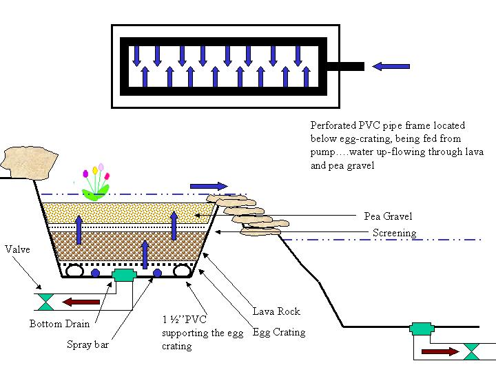 Homemade pond filters with diagrams homemade free engine for Pond filtration system diagram